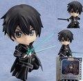 "Sword Art Online Cute Nendoroid 4"" Sword Art Online Kirito PVC Action Figure Collection Model Toy #295 10CM T3153"