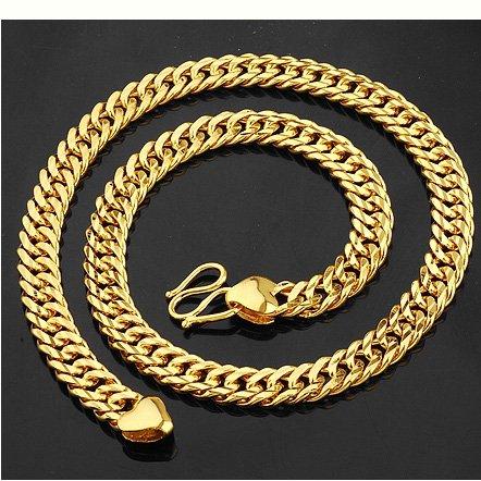Free shipping wholesale cheap gold jewelry 18K gold jewelry set