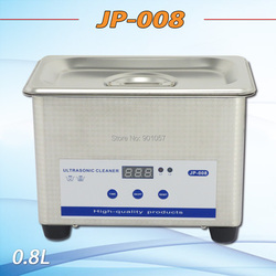 Free shipping!!! Skymen stainless steel 0.8L digital jewelry dental ultrasonic cleaner JP-008 50W 1 year warranty