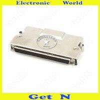 1pcs FMD100M AL SCSI Cable Connector DB100PIN Crimping Male Adapter Zinc Alloy Plug Socket