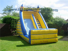 children's sports cheap price PVC tarapulin inflatable slide for entertainment/outdoor playground game