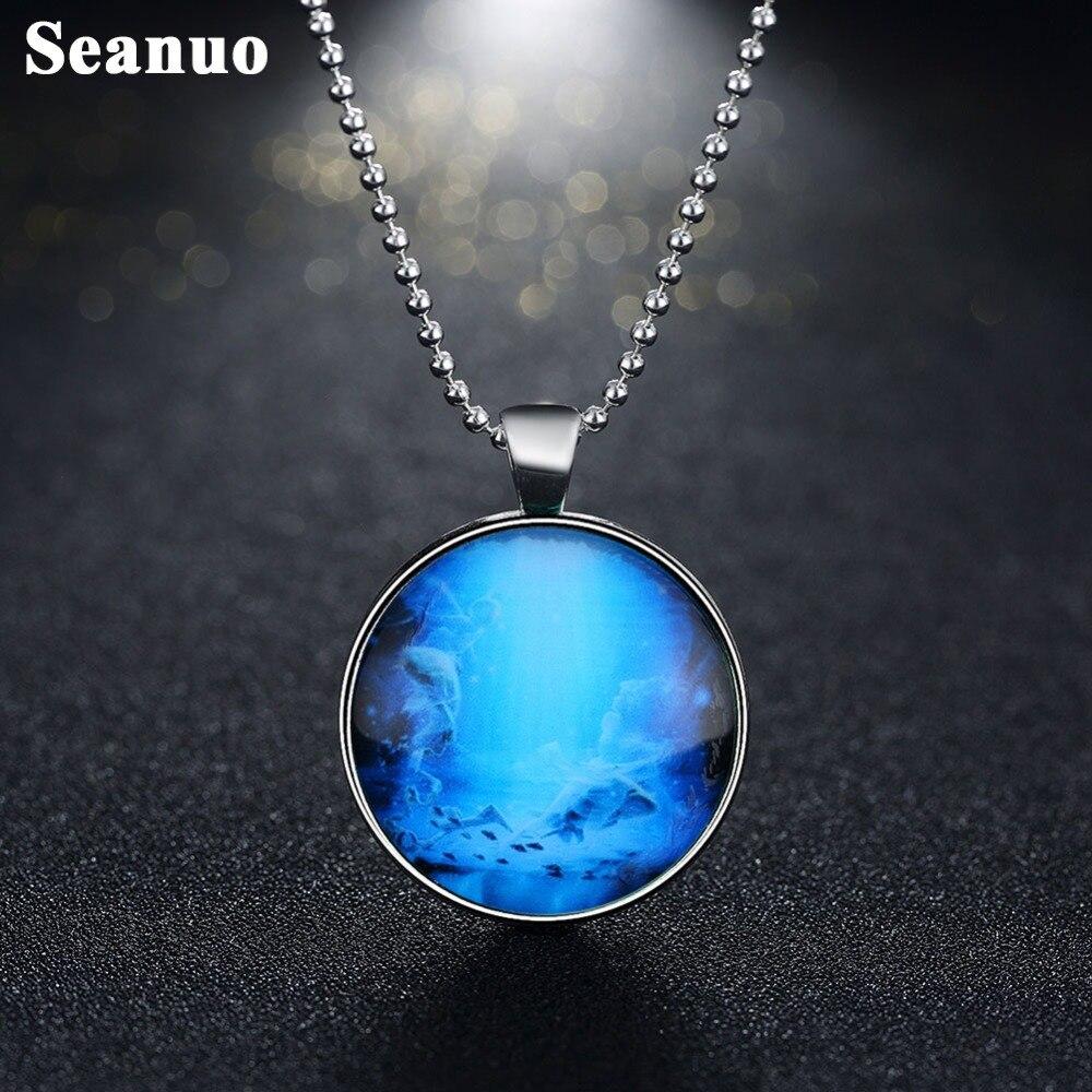 Aliexpress Com Buy 12 Zodiac Signs Constellation: Seanuo Night Glow Zodiac Pendant Fluorescent Pisces