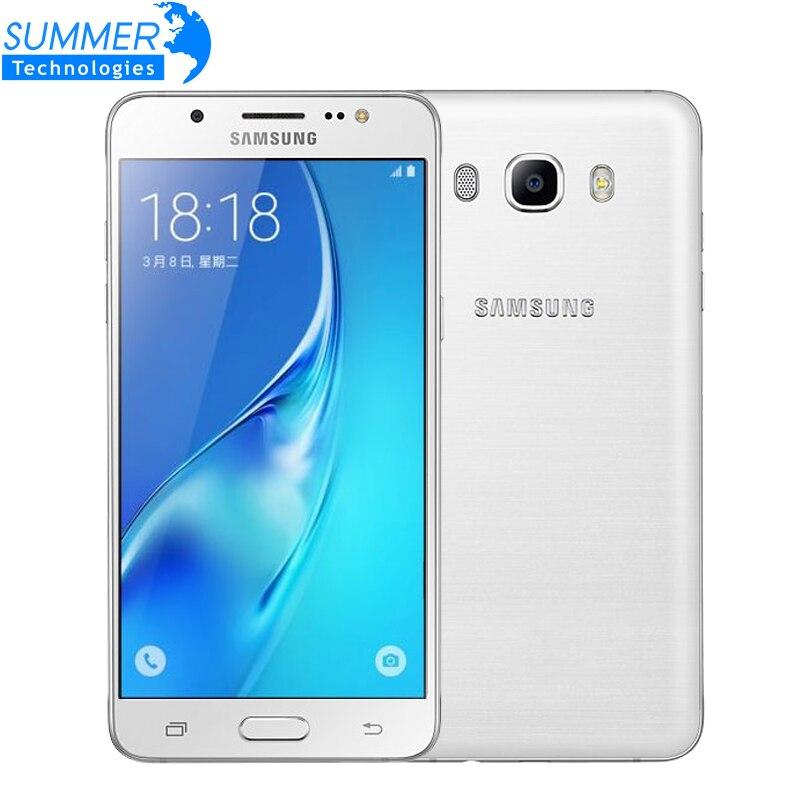 Original Samsung Galaxy J5 2016 4G LTE 2GB RAM 16GB ROM Quad Core font b Smartphone