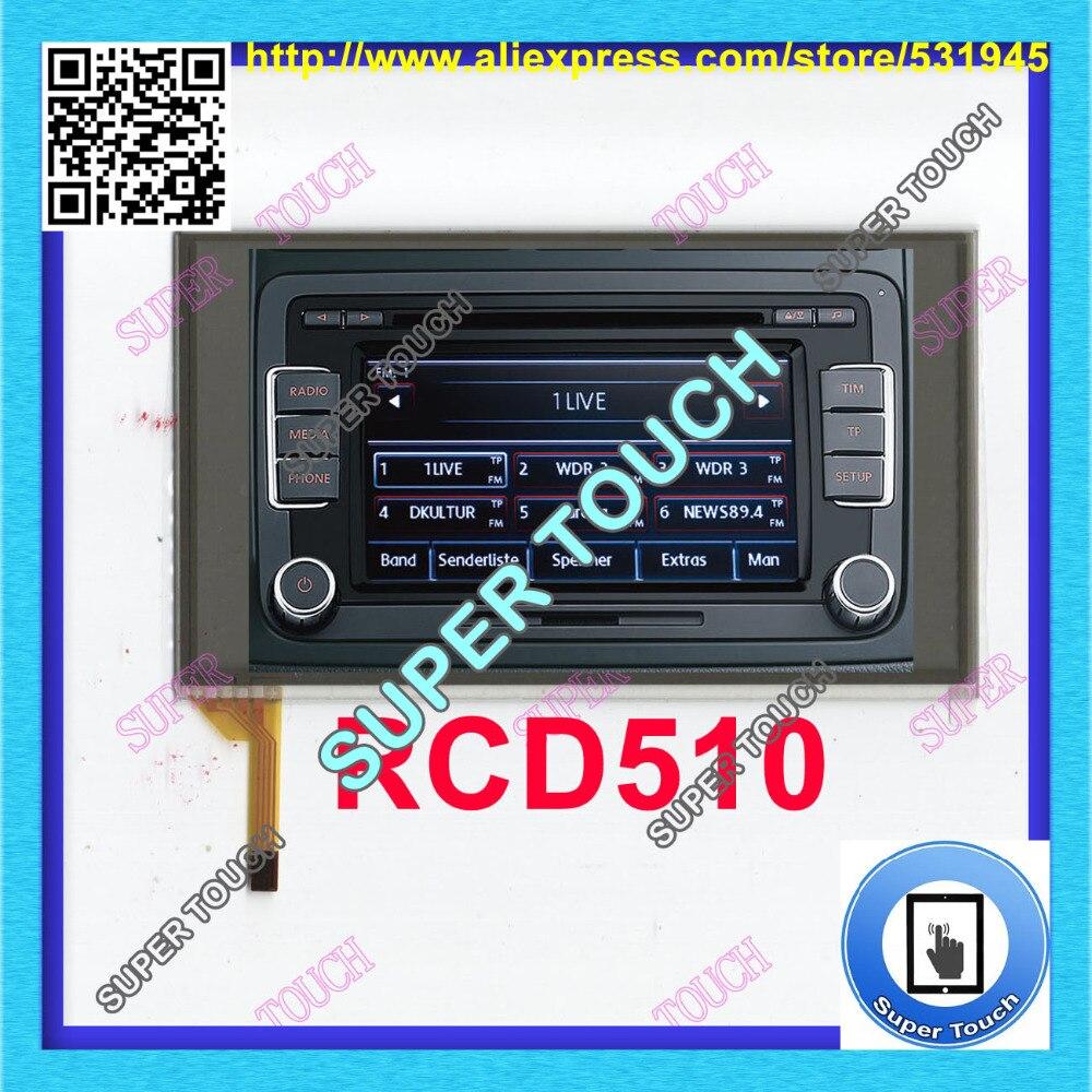 CRD510 volkswagen RCD 510 rcd510 vw rcd510 rcd510 touch screen Digitizer Repair Replacement FOR Car RCD510 C065GW03 V0 V1 155*91