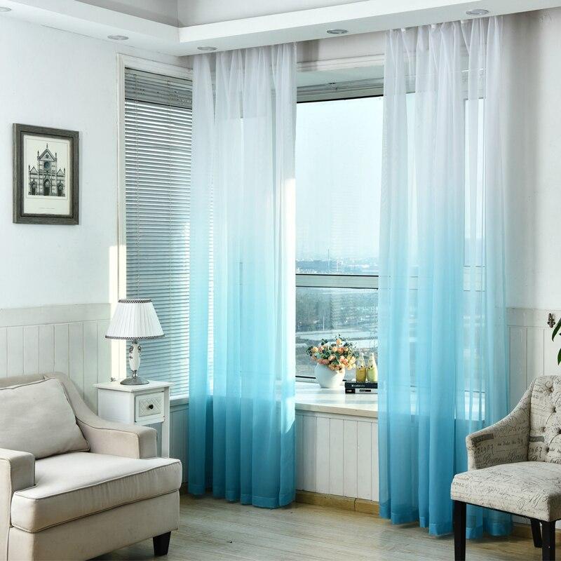 Tüll Vorhänge 3d Gedruckt Küche Dekorationen Fensterbehandlungen - Haustextilien - Foto 3