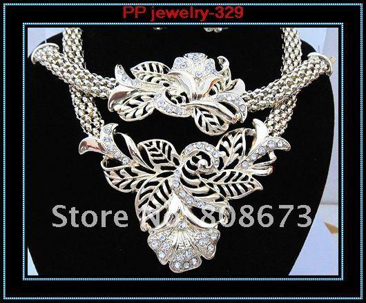 New Arrival jewelry set gold plate jewelry set 4 jewelry set
