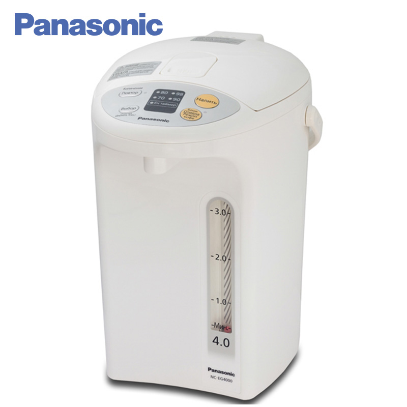 Panasonic NC-EG4000WTS Electric Air Pot 700W 4L Self-cleaning function Automatic interlocking of the dispenser