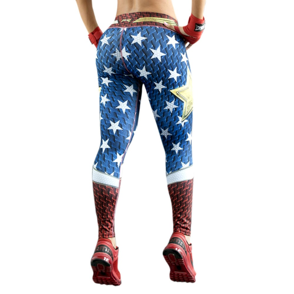 65d3f5da1eba5 Leggings Superhero Yoga Pants Women's Compression Tights Wonder Woman  Legging Limited Edition Fiber Colombia Trousers Sportswear on  Aliexpress.com | Alibaba ...