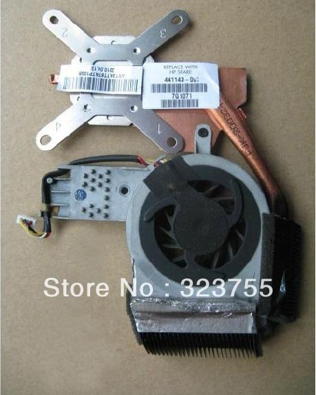 CPU Cooling Fan & HEATSINK for HP TX1000 TX2000 TX2 TX2500 LAPTOP 441143-001 441137-001