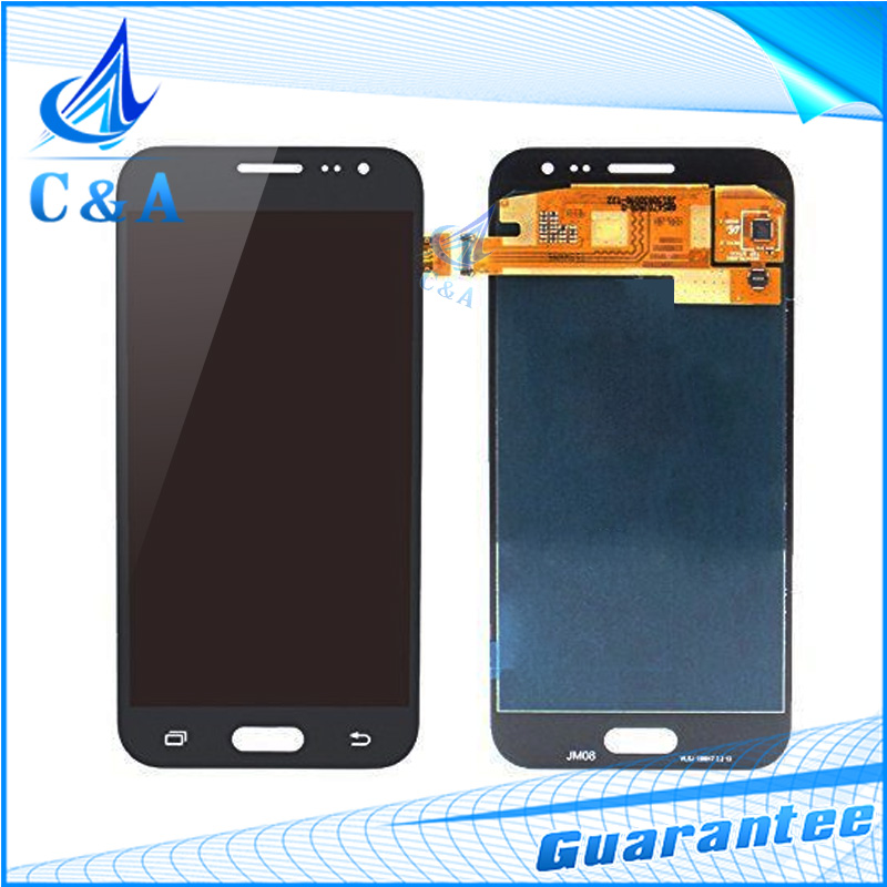 10 pcs free DHL EMS new parts for Samsung for Galaxy J2 J200 J200F J200H J200G LCD screen display with touch digitizer assembly