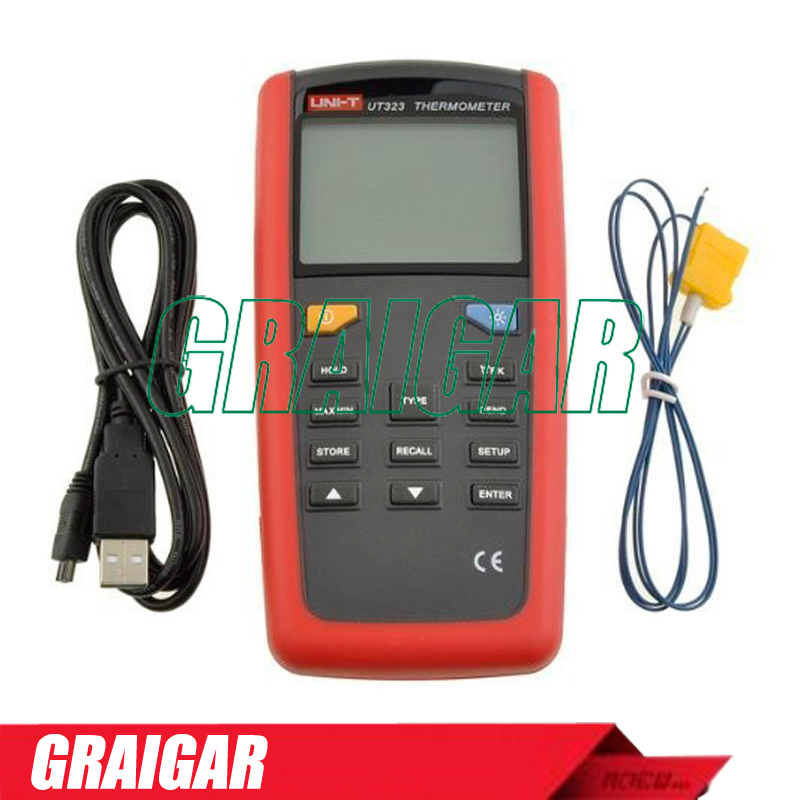 electronic multimeter SUPERIA UNI-T multimeter UT323 Digital thermometer thermometer table  цены