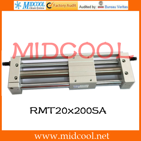 Original AirTAC Rodless magnetic cylinder(With guide) RMT Series RMT20x200SA sony rmt vp1k