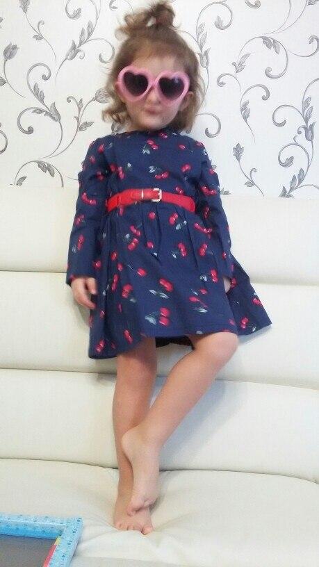 Х/б платье для девочки за 283 руб. с Алиэкспресс