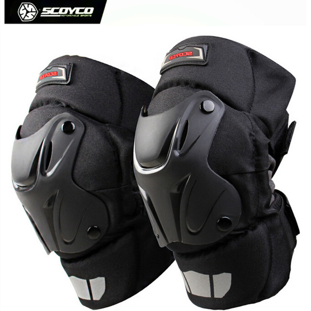Scoyco K15-2 Winter Thermal Windproof Motorcycle Motocross Racing Knee Pads Sports Safety Kneepads Protective Gear - 2017 New