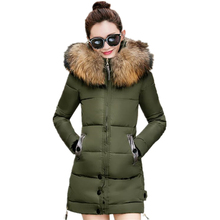 Winter Jacket Women Coat Lady Down Cotton Female Slim Parka Overcoat Casual Winter jackets and Coats Plus Size Parkas  CM452
