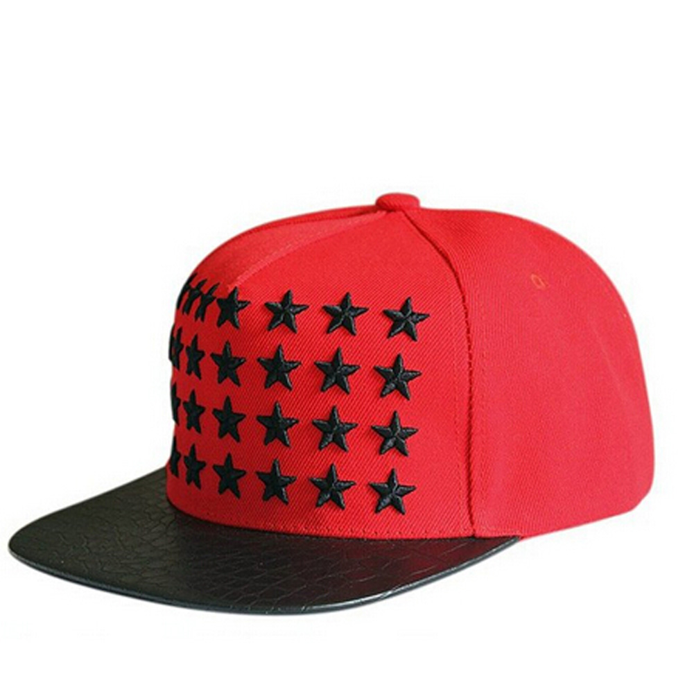 Casual Snapback hip hop Hot Sale hat tide right  full embroidery five-pointed star Baseball Cap hip-hop cap baseball cap