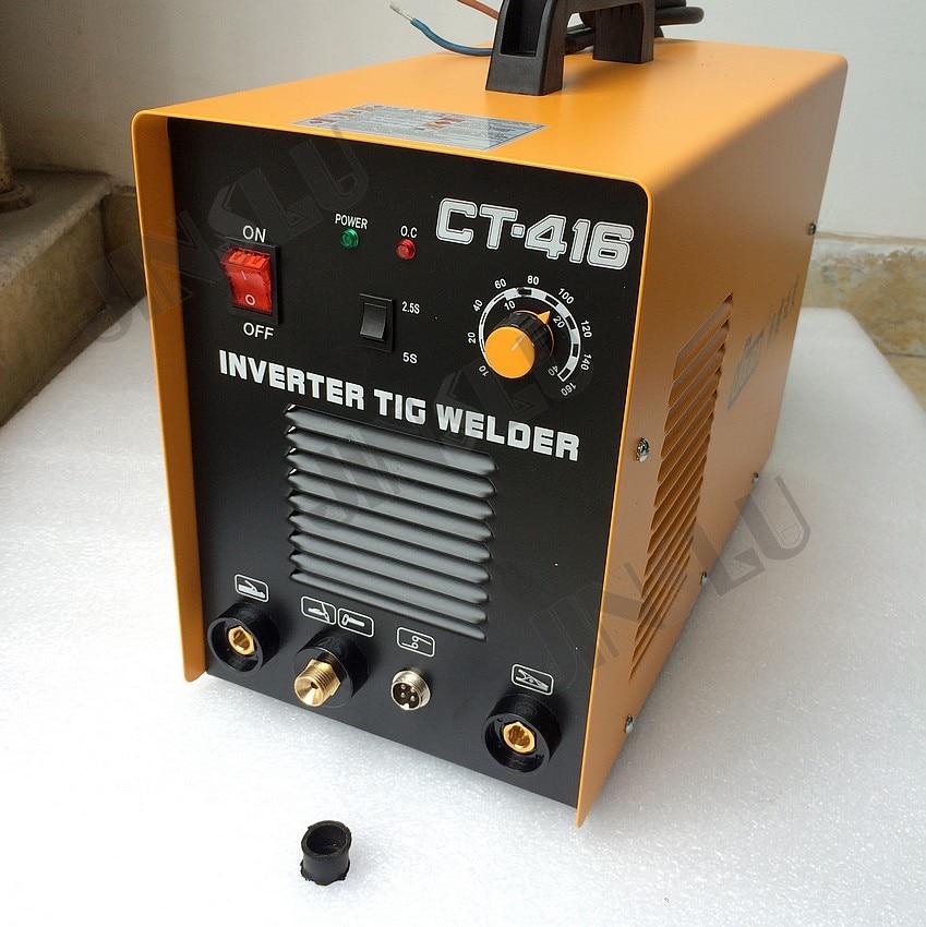 3 In 1 CT416 CT-416 TIG MMA Plasma Schneiden Cutter Inverter DC schweißer schweißen maschine mit freies zubehör JINSLU SALE1