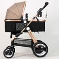 Russian frete grátis carrinho de Bebê de alta paisagem pode se sentar e deitar no inverno e no verão para crianças carrinho de bebê carrinho de criança
