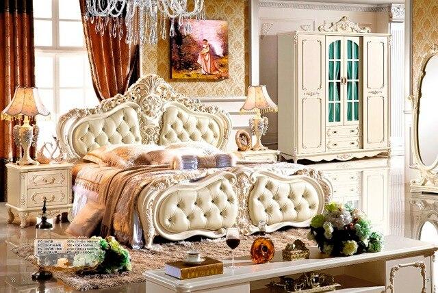 Neue Trend Schlafzimmer Möbel/italienische Klassische Schlafzimmer Set  0407 006