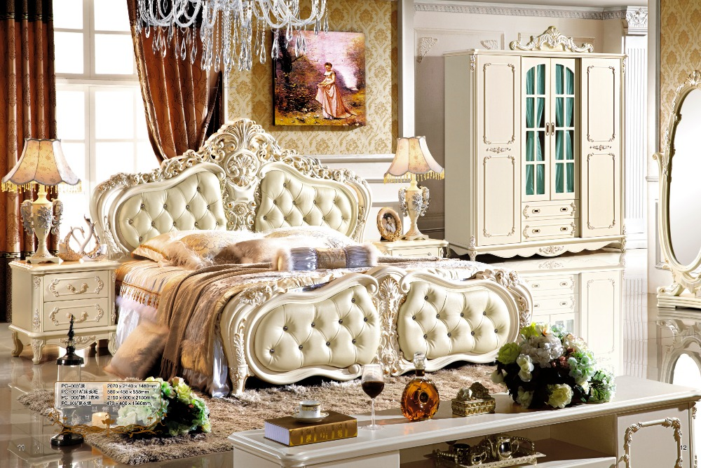 Popular italian bedroom sets furniture buy cheap italian for Classic beds for sale