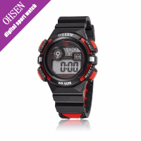 Kids WATCHES Boys 2016 New Stopwatch Multifunction Water Resistant Children Watch Silicone Girl Sports Led Digital
