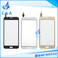 touch screen with digitizer front panel with flex cable for Samsung Galaxy J7 J700 free shipping 1 piece replacement parts