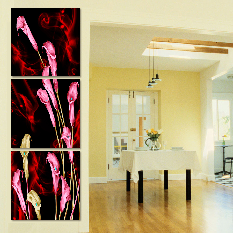 Fancy Pink Canvas Wall Art Elaboration - Art & Wall Decor ...