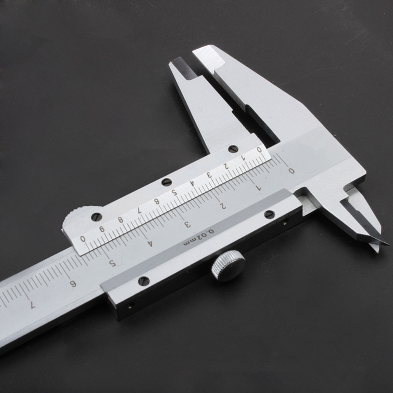 0 150mm 6 Stainless Steel vernier font b caliper b font MICROMETER measuring tool paquimetro
