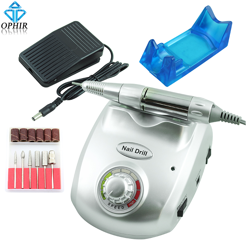 Ophir Electric Nail Drill Machine 30000rpm Pedicure