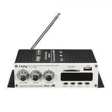 LP-A7 USB Mini Super Bass Stéréo De Voiture Amplificateur audio Amplificateur USB DVD CD avec FM MP3 Super Bass Stéréo À Distance contrôleur