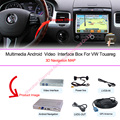 Original car screen upgrade Android 4.4 4 Core Car Video GPS Navigation For 2010~2016 VW Touareg  Built-in WiFi rear view camera
