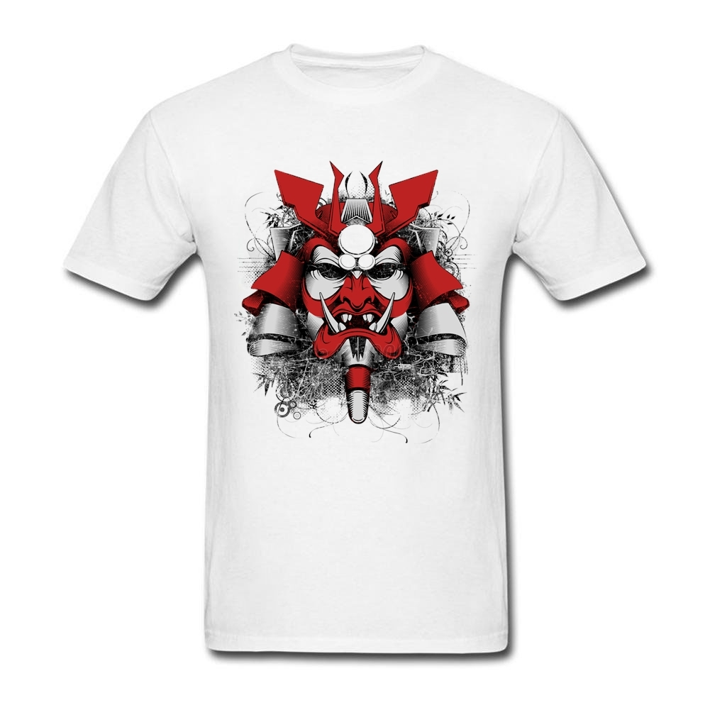 T shirt japanese design - New Design Tshirt Men Man S Lonely Warrior Japanese Samurai Men T Shirt Custom Cotton Short Sleeve