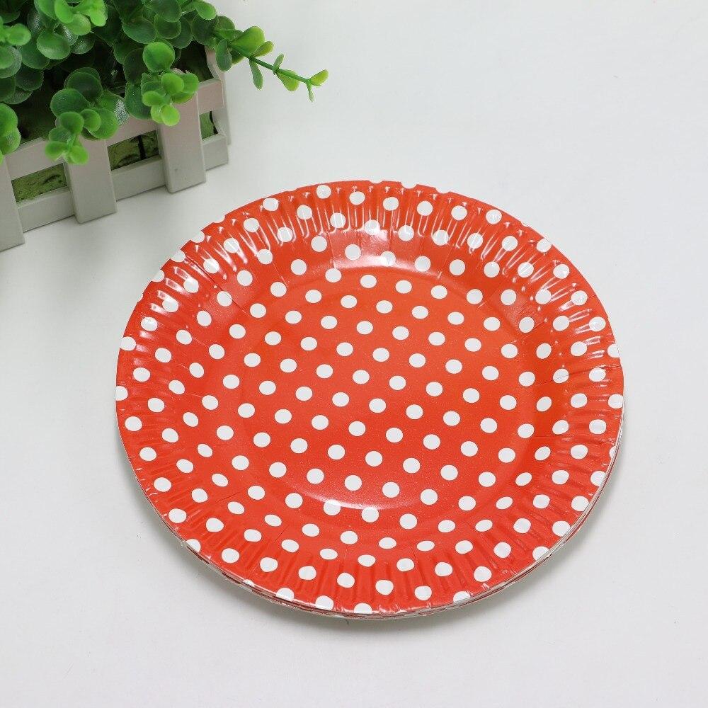 Online kopen wholesale rood papier plaat uit china rood papier plaat groothandel - Decoratie schotel ...