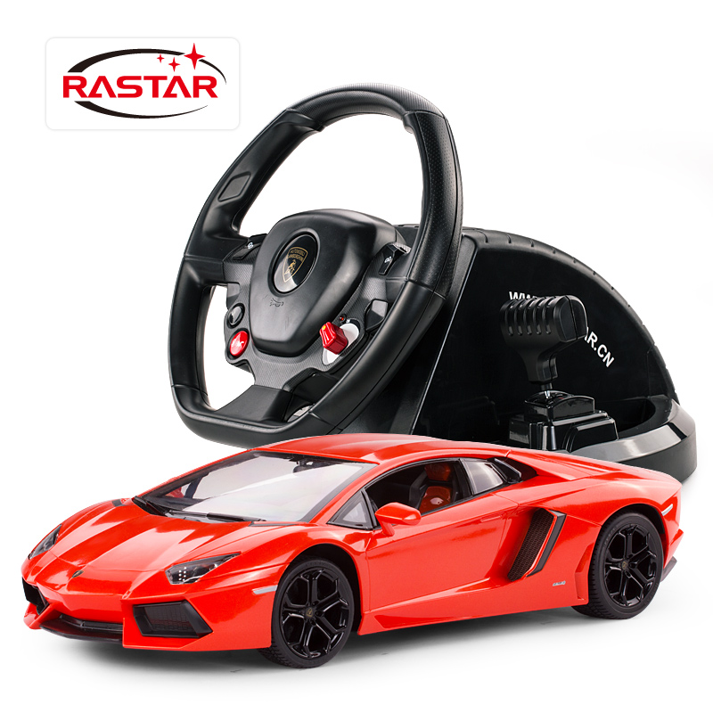 Toy Remote Control Cars For Boys : Rastar children rc sports cars model steering wheel