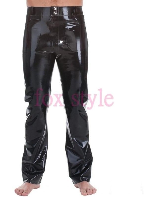 Мужские резиновые брюки для джентльмена