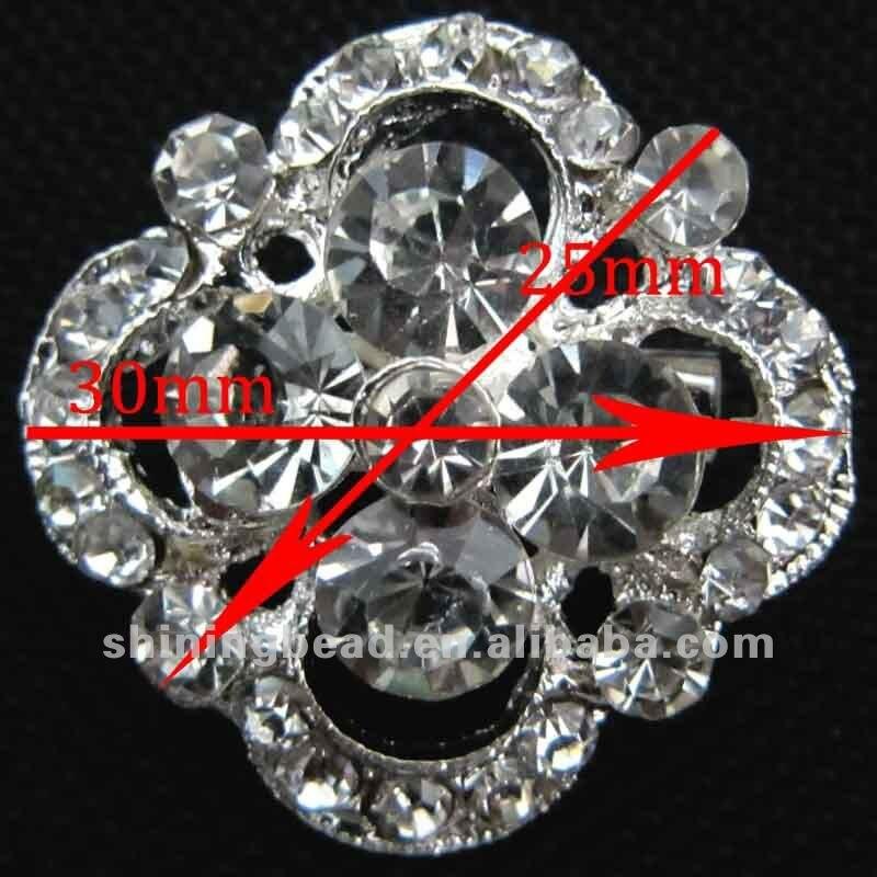 Очаровательный кристалл Стразы брошь+ Лидер продаж