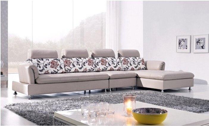Luxury Top Grain Leather Corner Sofa