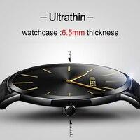OLEVS Fashion Popular Leather Belt Women Watch Ultra Thin Luxury Waterproof Quartz Watch Simple Men S