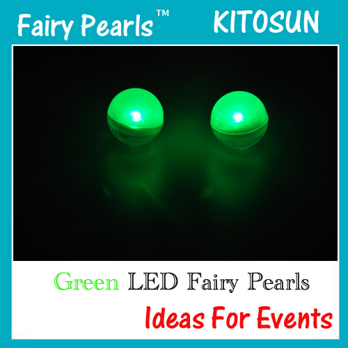 Green Fairy Pearls
