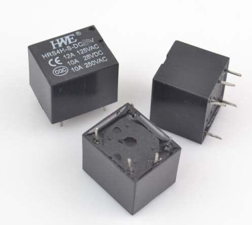 10pcs HWE relay JQC 3FT73 DC 3V5V9V12V24V JQX 14FF3 relais