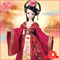 2016 Brand new collection! Chinese traditional plastic doll Kurhn doll - Bride Wencheng #9099