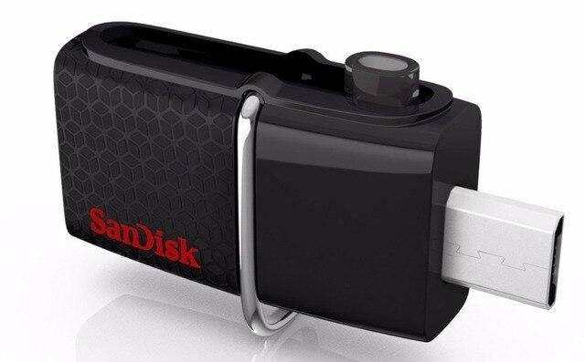 Sandisk Ultra 16GB-64GB Dual USB 3.0 Drive OTG Flash Drive Memory Stick SDDD2