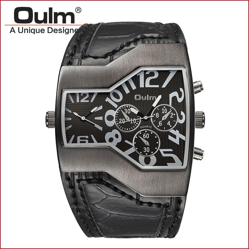 oprindelse design watch dobbelt tidszone sport stil kvarts - Mænds ure