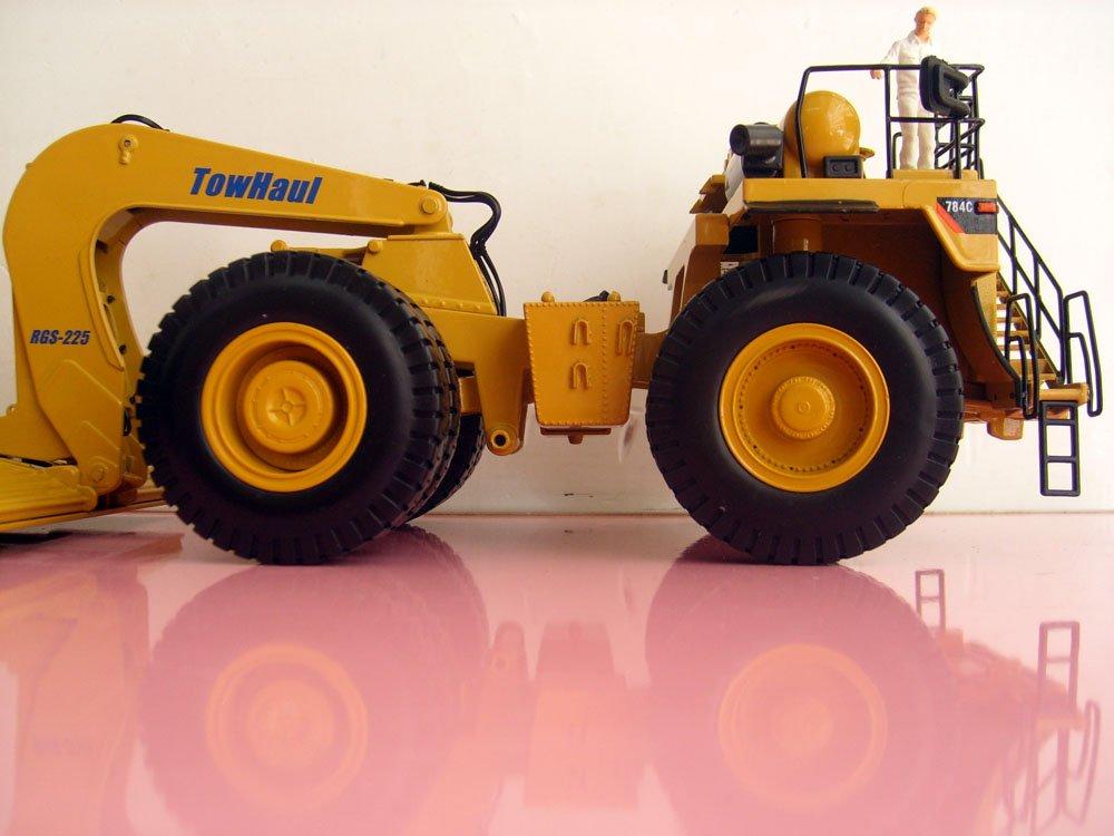 NORSCOT-55220 1:50 CAT 784C трактор с буксировщиком Trailertoy