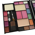 10 Color PRO Makeup Set Eyeshadow Palette 2 Blush 4 Lip Gloss 2 Concealer With Brush Full Make Up Set