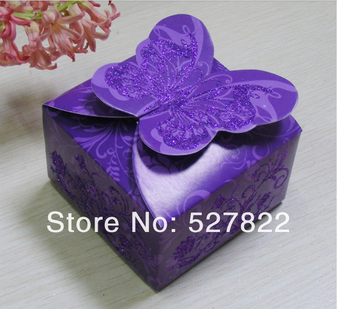 Hot 100pcs 3 Colors Dark purple Pink Red Butterfly Angel Beautiful Candy Box Creative DIY Wedding Favor Boxes,wedding gift3.jpg