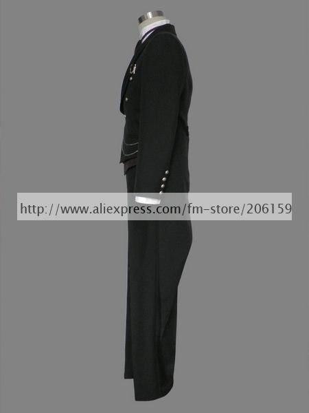 Аниме Черный Дворецкий Косплей-темный дворецкий Kuro Shitsuji Косплей Костюм для Хэллоуина вечеринки