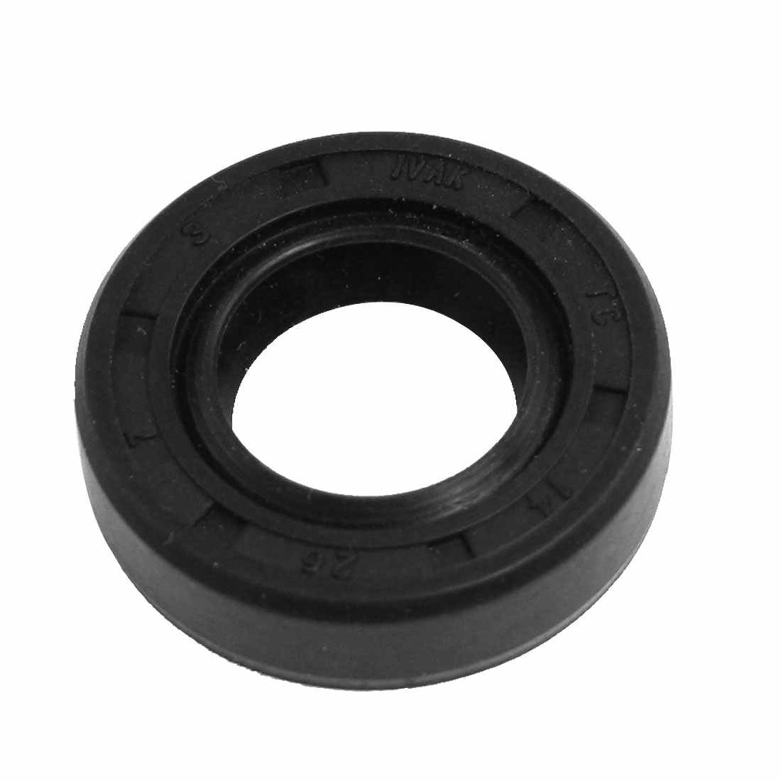 Uxcell 7mm Metric Tc Borracha Nitrílica Duplo Lip Oil Seal Id. | 14mm | 15mm | 16mm | 17mm