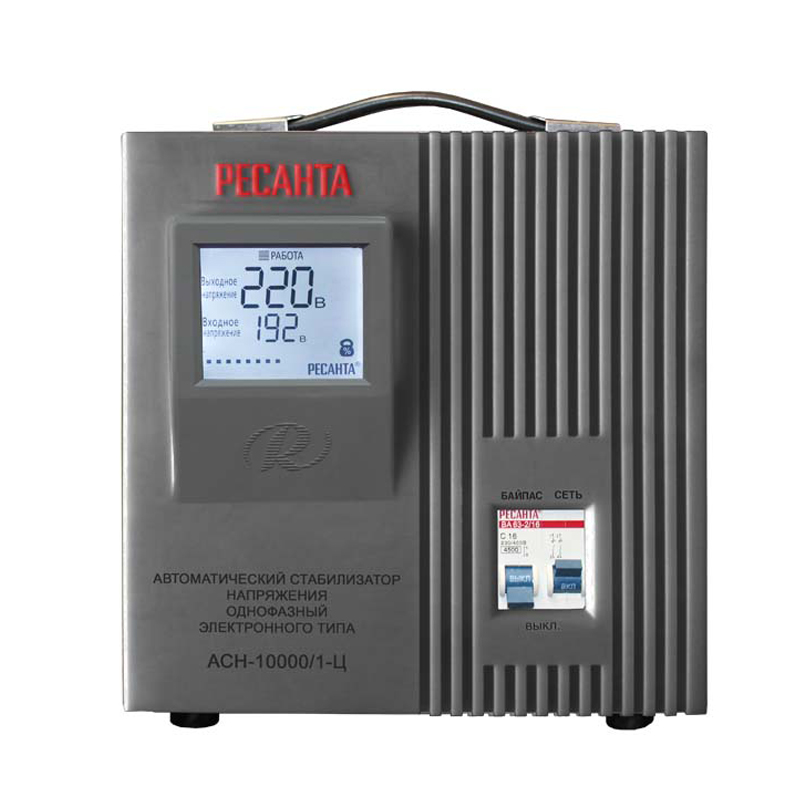 Voltage stabilizer RESANTA ASN-10000/1-C