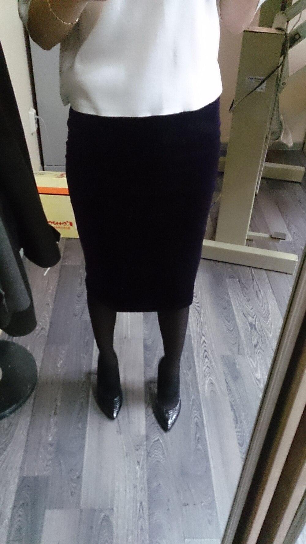 Добрый день! Сегодня хочу рассказать о фиолетовой юбки под бархат
